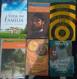Título do anúncio: Livros literatura