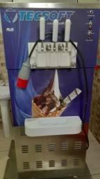 Título do anúncio: Maquina de sorvete expresso tecsoft modelo Plus trifásica Valor  26.000