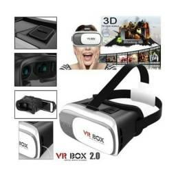 Título do anúncio: Óculos 3D Realidade Virtual Vr Box + Controle Bluetooth