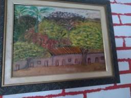 Tela pintura a óleo, Tamanho 30 x 40