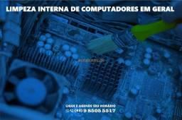 limpeza interna notebook