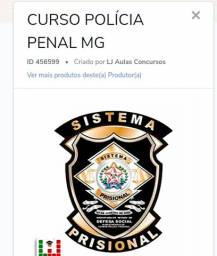 Curso preparatório online  para Polícia Penal mg
