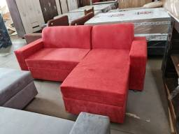 Título do anúncio: Promoção sofá em L ideal pra ambientes menor