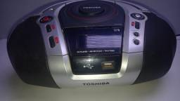 Título do anúncio: Mp3 Player Portátil USB, Radio e CD