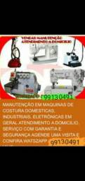 Título do anúncio: Assistência técnica de máquinas de costura serviço com garantia