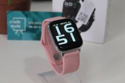 Smartwatch P8 Pro 20mm Compatível com Android e IOS Pink