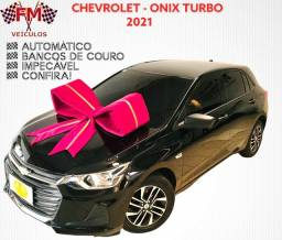 Título do anúncio: CHEVROLET - ÔNIX TURBO AUTOMÁTICO BANCOS DE COURO