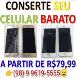 79,99 Especializada em consertos de celular!