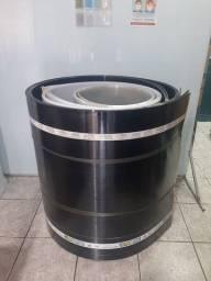 Chapa de policarbonato 6mm 1.05 x 6.00  fume pague na entrega