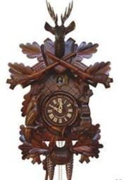 Relógio cuco de parede alemão