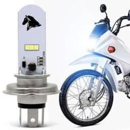 Título do anúncio: Lampada led H4 para motos