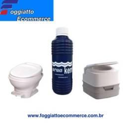 Líquido para banheiros de motorhome e ônibus