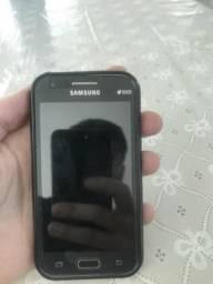 Samsung J1 Duos + case de borracha