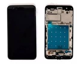 Tela Display Lg K11 Touch + Display Lcd C/ Aro Peça Pra Reposição