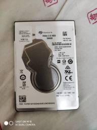 HD 2.5 Seagate 500GB Novo