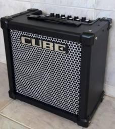 Amplificador pra guitarra roland cube 20 gx top