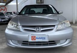Honda civic lxl 1.7 mec ano 2005/2005 - 2005