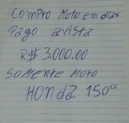 Honda 150cc em dias dinheiro na mão - 2005