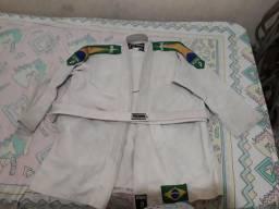Kimono Jiu Jitsu Faixa Branca Infantil
