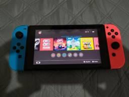 Nintendo Switch Neon desbloqueado 64gb