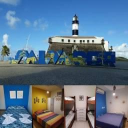 Barra Hostel 483| Hostel Prime com suítes e alojamentos. Réveillon, Carnaval Salvador 2020