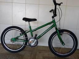 Bicicleta aro 20 nova aero Cross verde