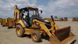 Retroescavadeira Caterpillar 416E ano 2010 maquina revisada n newholland case JCB