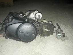 Motor de shynerai com kit 75c com carburador 50c