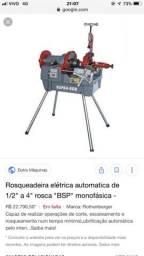 Rosqueadeira rothenberger$6000
