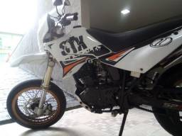 Sundown stx motard 200cc, conservada, revisada, pego moto-vlor, parcelo no cartão até 12x - 2008