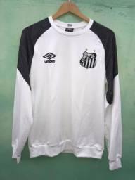 Agasalho completo de treino Umbro Santos FC. 3d22a2ca30332