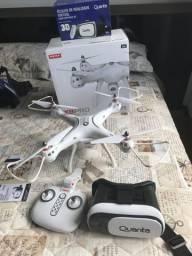 Drone SYMA X8 Pro + óculos de realidade virtual