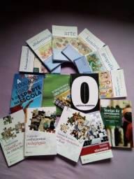 Coleçao de 14 livros de pedagogia ou licenciatura