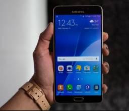 Smartphone Samsung Galaxy A9 32gb 4g 16mp - Preto troco por iphone 6 plus