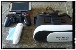 Kit óculos virtual e Controle