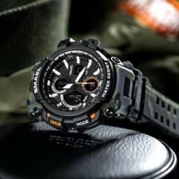 Relógio Smael Militar Operacional Original Promoção