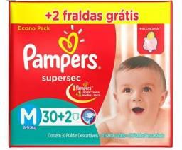 Vendo ou troco fraldas Pampers M por tamanho G ou XG