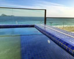 Cobertura de 350m² na Av. Vieira Souto, frontal mar, c/ vista deslumbrante !!!