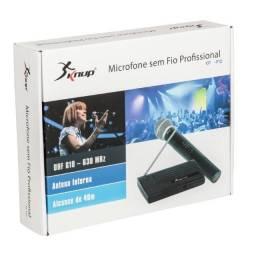Usado, Microfone Sem Fio Uhf Wireless Bivolt Karaokê Profissional comprar usado  Vila Velha