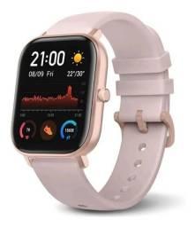 Liquidação!! Relógio Inteligente Amazfit GTS Pink Rose Smartwatch Original Novo Garantia