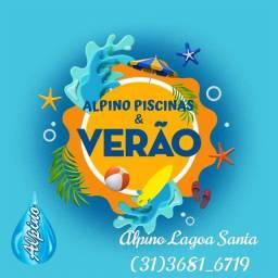 Js- Promoção piscina de Fibra *Instalada * 8,00x3,20*com Prainha -Exclusivo