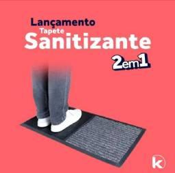 Tapete Capacho Sanitizante 2 em 1 Max Kapazi 78 x 40 cm