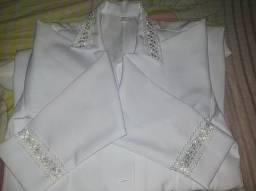Vende-se jaleco branco feminino