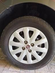 Troco roda comum por roda de liga leve, Aro 14.