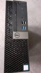 Computador Dell Optiplex i5 6Ger 8GB Ssd 256Gb Placa de Vídeo 2GB Dedicado