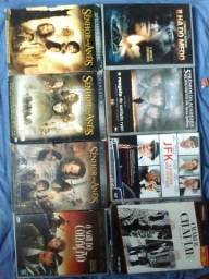 DVDs. 10 reais cada