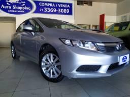 Honda Civic Lxs 1.8 Flex 2015!! Zero! 50.000km!!
