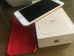 iPhone 8 plus Gold.