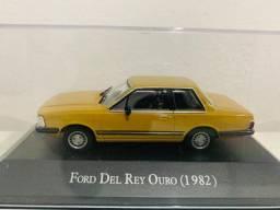 Ford Del Rey Ouro 1982 Inesquecíveis Do Brasil Escala 1:43