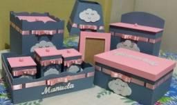 Kit higiene bebê personalizado sob encomenda Leia dmescrição